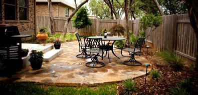 Austin Patio Landscaping