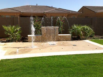 Luxury Splash Pad Rain Deck Mesa, AZ