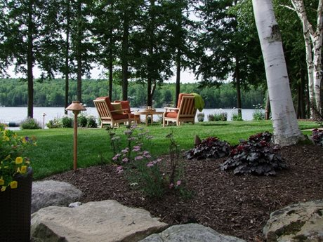 New Hampshire Lake Front Landscape Landscaping Network