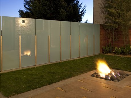 Contemporary Fire Pit Fire Pit Shades of Green Landscape Architecture Sausalito, CA