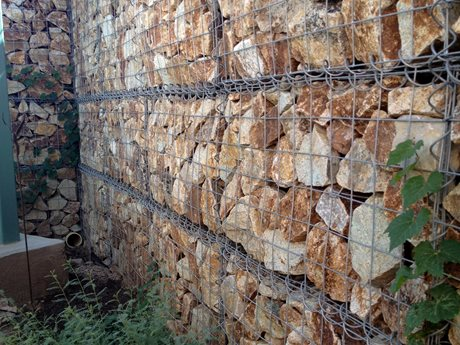 Gabion Wall Landscaping Network Calimesa, CA