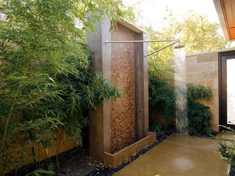 Shower in the Open Air