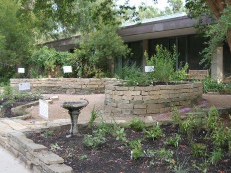 Houston Arboretum and Nature Center, Raised Beds