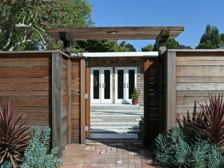 Gates and Fencing Shades of Green Landscape Architecture Sausalito, CA