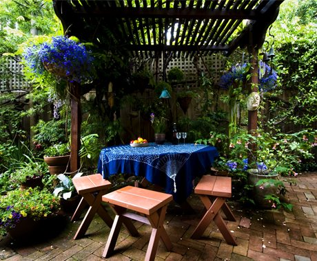 Eclectic Patio Furniture