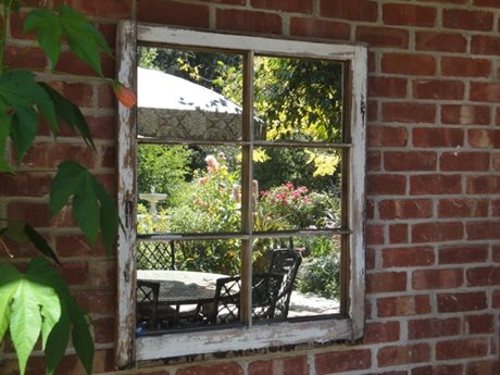 Find Ways to Use Old Doors and Windows « Organic Landscaping ...