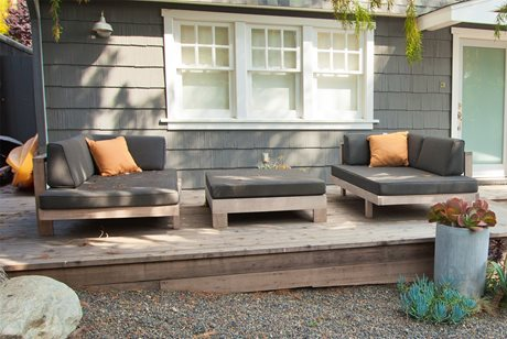 Patio Furniture, Modern, Gray