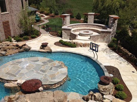 Family Friendly Outdoor Living Area