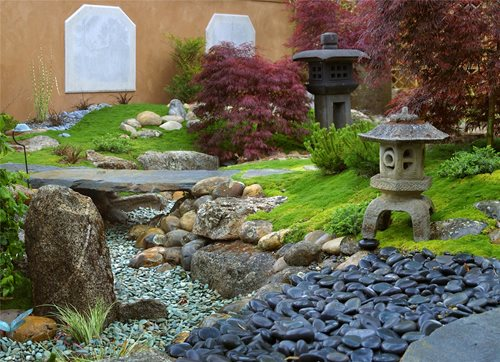asian landscaping grace design associates santa barbara ca - Garden Landscaping Design