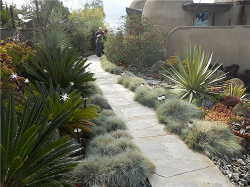 Low Maintenance Front Garden Ideas Driveways Flower Beds