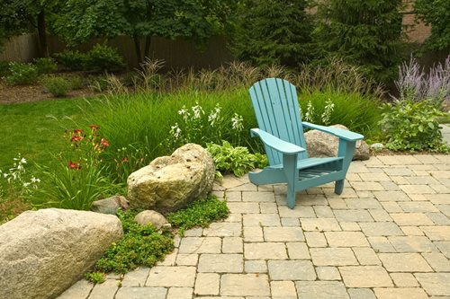 Ideas for using paving stones throughout the landscape