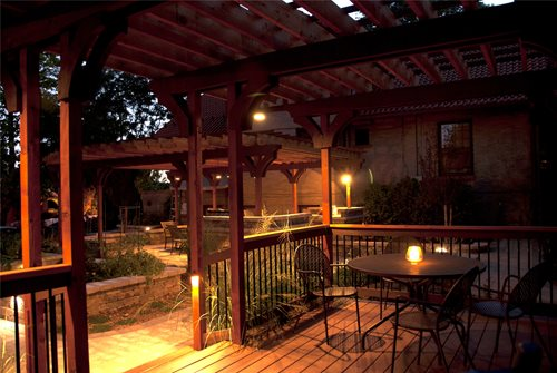 idea lanscaping tuscan style backyard landscaping pictures