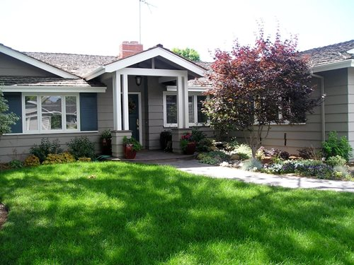 Simple Landscaping Front Yard Curb Appeal Flower Beds