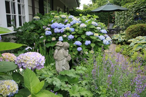 English Garden Landscape Ideas Photograph | English Landscap