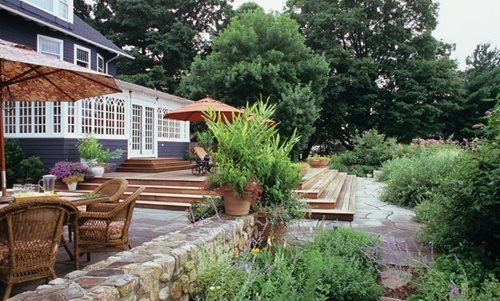 Vegetable Garden Ideas New England colonial landscape ideas - landscaping network