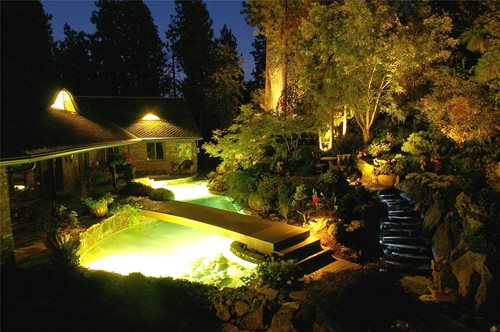 Pond lighting ideas landscaping network for Koi pond lights