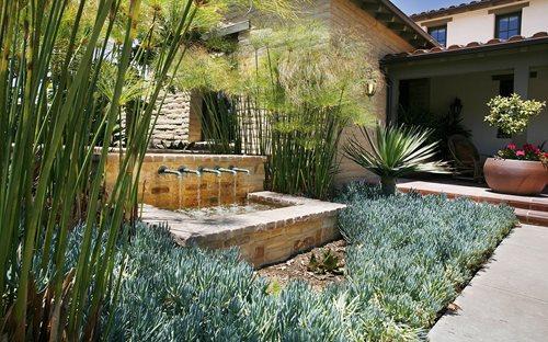 ... Mediterranean Fountain Los Angeles Landscaping Landscape Development,  Inc. Valencia, CA - Landscaping Los Angeles - Landscaping Network