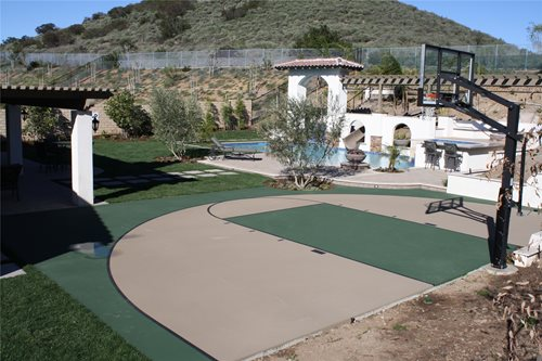 Backyard Sport Court Ideas find this pin and more on my outdoor entertaining sport court Backyard Sports