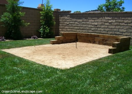 Backyard Sport Court Ideas placing trees around your tennis court is a great way to divide the space from the Backyard Sports