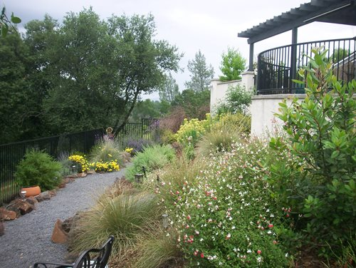 My ideas lanscape tuscan style backyard landscaping for Tuscan garden design ideas