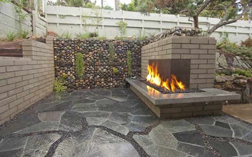 Outdoor Fireplace Construction 500 x 311