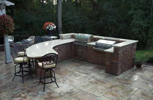 Outdoor Kitchen Designs Amp Ideas Landscaping Network