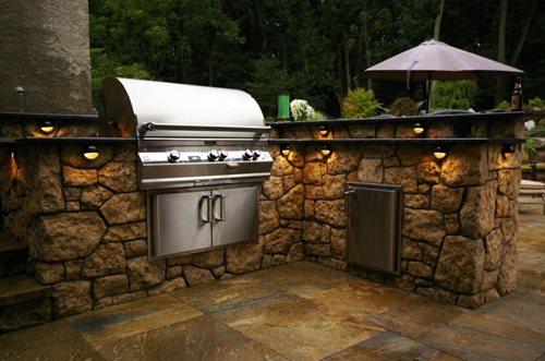 prefab outdoor kitchen outdoor kitchen building and design