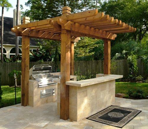 Outdoor Kitchen Designs Houston  Outdoor Kitchen Building