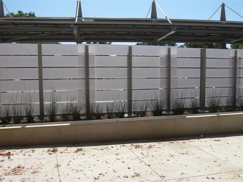 Eco Resin Panels : Recycled resin panels outdoors landscaping network