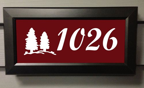 Lighted Address Numbers - Landscaping Network
