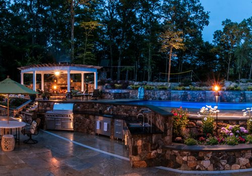 Backyard Oasis Designs total landscape care announces 2013 contest winners - landscaping