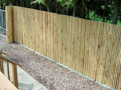 Superb Easy To Install Bamboo Fencing