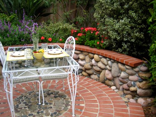 Brick Patio Ideas - Landscaping Network on Small Backyard Brick Patio Ideas id=14424