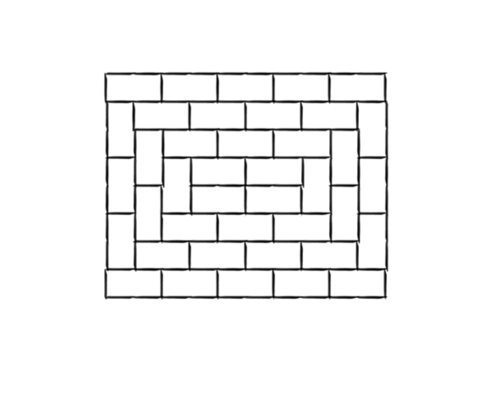 Brick Patterns Landscaping Network Simple Running Bond Pattern