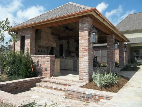 Brick Veneer Landscaping Network