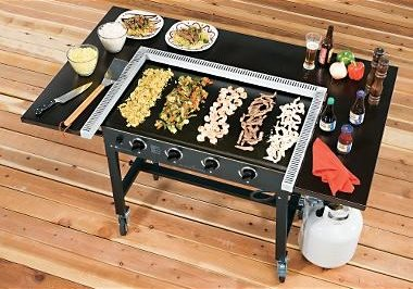japanese outdoor teppanyaki grills landscaping network. Black Bedroom Furniture Sets. Home Design Ideas