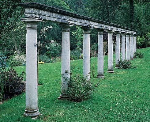 Cast Stone Garden Structures