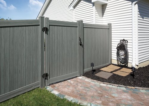 Vinyl fencing landscaping network - Vinyl railing reviews ...