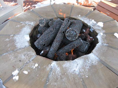 Fire Pit Logs