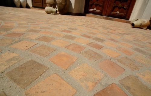 Rustic Concrete Pavers Landscaping Network