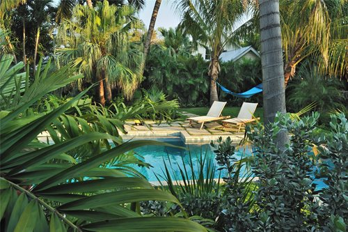 Key West Style Backyards : Key West Pool & Tropical Garden  Landscaping Network