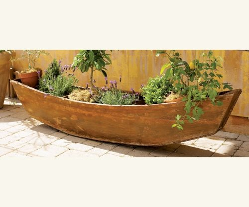Reclaimed Garden Planters Landscaping Network