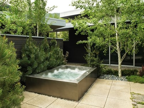 Stainless Steel Spas Landscaping Network