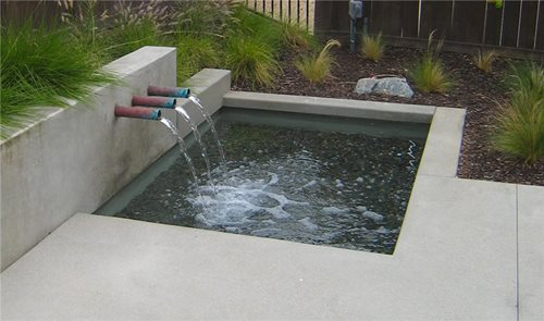 Modern Outdoor Fountains Pictures Ideas Landscaping Network