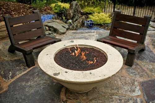 Concrete Fire Pit Landscaping Network
