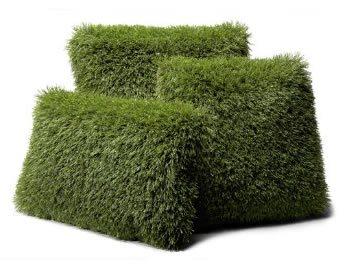 Delightful Synthetic Turf Pillows Ideas