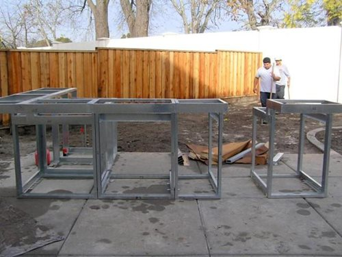 Outdoor Kitchen Construction – Masonry, Wood, Kits & Prefab ...