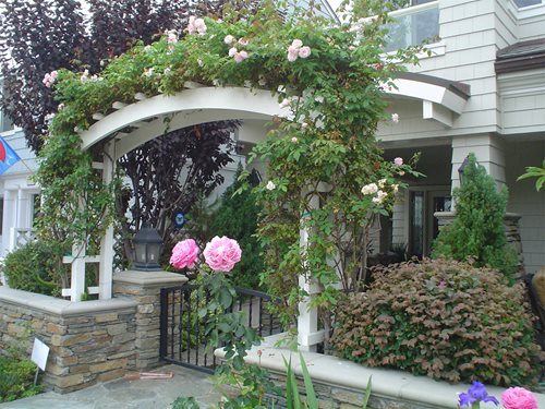 Arbor cost landscaping network for How much to landscape a small front yard