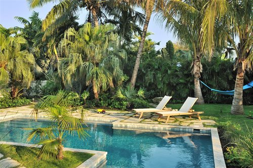 Pool Tropical Landscaping Ideas key west pool & tropical garden - landscaping network