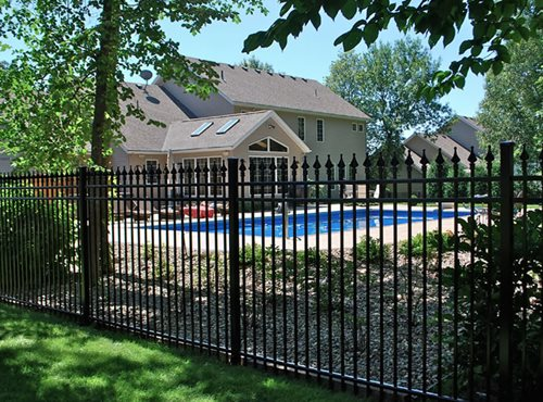 Wrought iron fences landscaping network